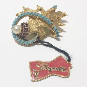 Vintage designer brooch
